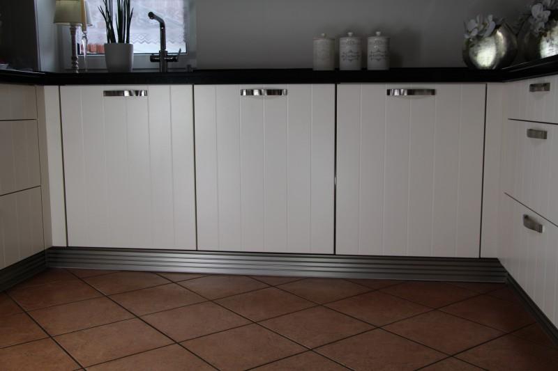 Küchen Sockelleiste Aluminium Inox