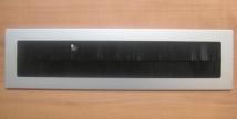 Kabeldurchführung Aluminium Silber 260x70mm