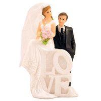 Figur Hochzeitspaar LOVE 11cm