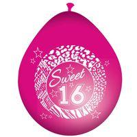 8 Luftballons Sweet 16 30cm Bild 2