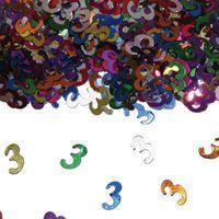 Konfetti Zahlenkonfetti 3 Geburtstag 15g