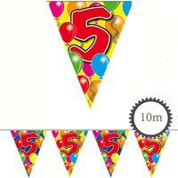 Wimpelkette Ballons 5 Geburtstag 10m