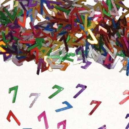 Konfetti Zahlenkonfetti 7 Geburtstag 15g