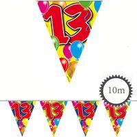 Wimpelkette Ballons 13 Geburtstag 10m