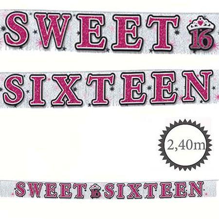 Banner Sweet 16 2,4m
