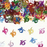 Konfetti Zahlenkonfetti 16 Geburtstag 15g