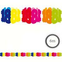 Papier Girlande 18 Geburtstag 6m