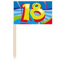 Party-Picker Swirl 18 Geburtstag 50 Stk. Bild 2