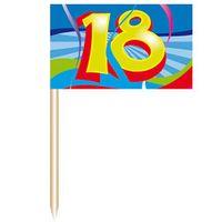 Party-Picker Swirl 18 Geburtstag 50 Stk.