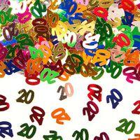 Konfetti Zahlenkonfetti 20 Geburtstag 15g