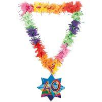 Hawaikette Swirl 40 Geburtstag 53cm Bild 2