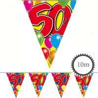 Wimpelkette Ballons 50 Geburtstag 10m