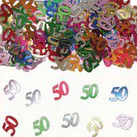 Konfetti Zahlenkonfetti 50 Geburtstag 15g