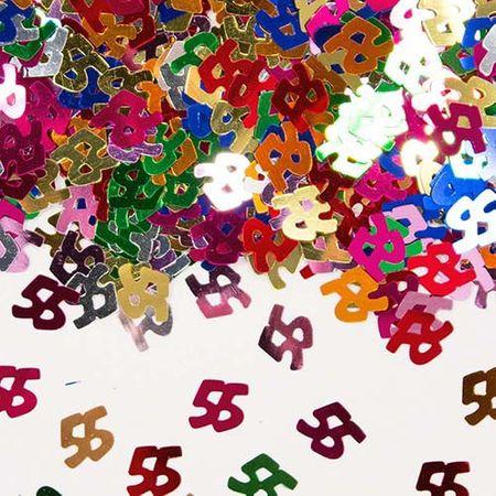 Konfetti Zahlenkonfetti 55 Geburtstag 15g