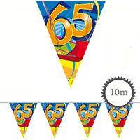 Wimpelkette Swirl 65 Geburtstag 10m