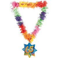 Hawaikette Swirl 65 Geburtstag 53cm Bild 2