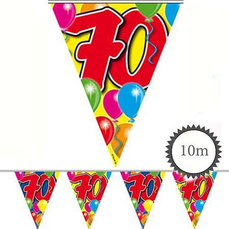 Wimpelkette Ballons 70 Geburtstag 10m
