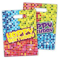 Party-Tüte Happy Birthday Blocks 6 Stk. 001