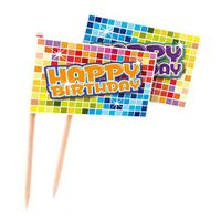 Party-Picker Happy Birthday Blocks 24 Stk. 001