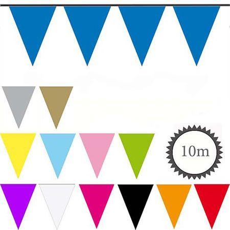 Wimpelkette verschiedene Farben 10m