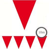 Wimpelkette rot unifarben 10m