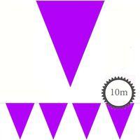 Wimpelkette lila unifarben 10m Bild 2