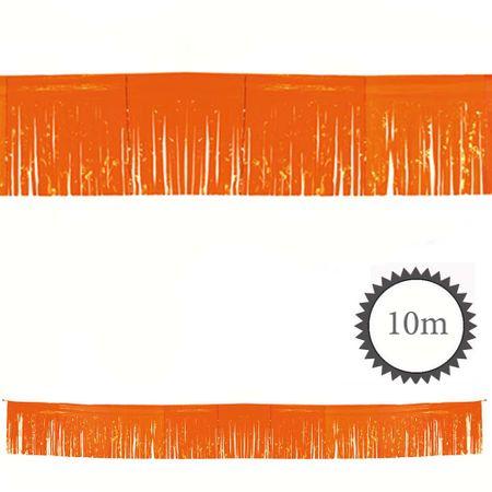Fransen Girlande orange 10m