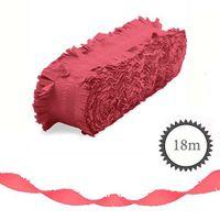Krepp Girlande Neon 18m rosa