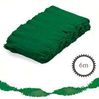 Krepp Girlande 6m grün