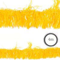 Folien-Girlande PET gelb 4m Bild 2
