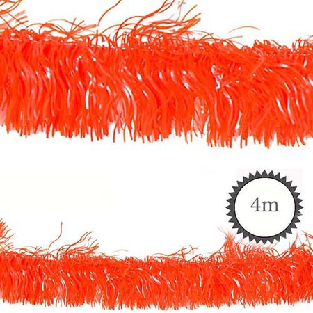 Folien-Girlande PET orange 4m