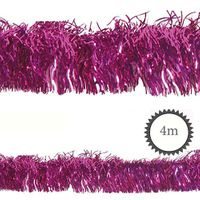 Folien-Girlande PET magenta 4m
