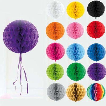 Wabenball verschiedene Farben 30cm