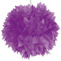 Pompom lila 30cm Bild 2
