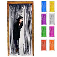 Türvorhang Lametta verschiedene Farben 2 x 1 m