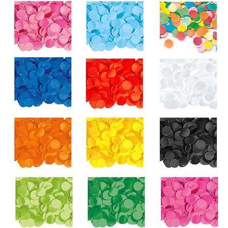 Papier Konfetti verschiedene Farben 100g