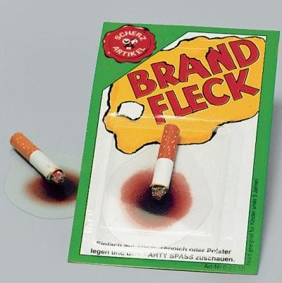 Brandfleck Zigarette Auslaufartikel