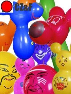 10 Figurenballons von C&F extra stark