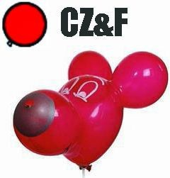 1 Figurenballon Bonzokopf 50cm