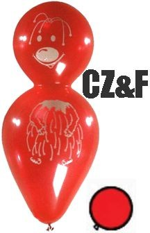 1 Figurenballon Knolly