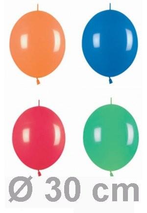 10 Verbindungsballons Ø 30cm
