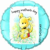 Folienballon Mother´s Day Daisy Ø 45cm 001