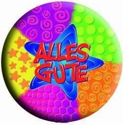 Folienballon Alles Gute Ø 45cm