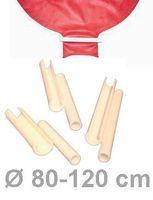 10 Riesenballon-Verschlüsse für Ballons Ø 80-120cm
