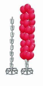 Metallbodenständer für Ballons