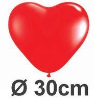 100 Herzballons Ø 30cm