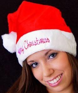 Weihnachtsmütze Merry Christmas