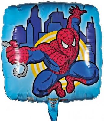 Folienballon Spiderman Action Szene Ø 45 cm