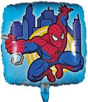 Folienballon Spiderman Action Szene Ø 45 cm