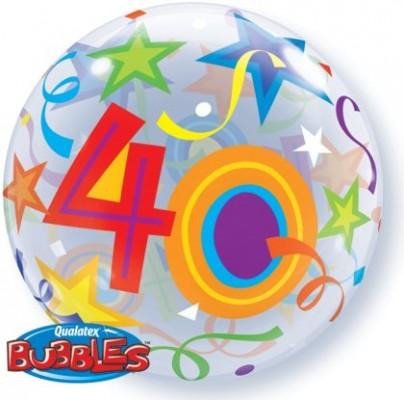 BUBBLE Ballon 40 Ø 56cm